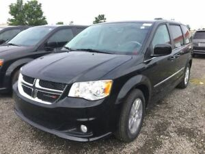 2017 Dodge Grand Caravan CREW   USED DEMO   SPECIAL CLEARANCE  