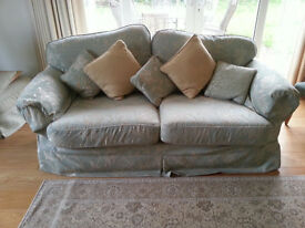 Three piece suite with loose covers *Price reduced*