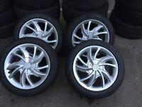 Proton alloy wheels 2005 to 2008
