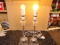 Acrylic Lamp Bases