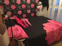 Colleen Rooney king size bedding set as new