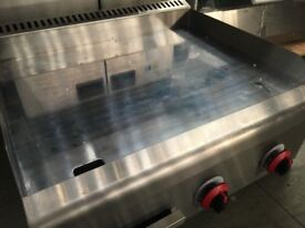 ************************* Brand New OEM LPG or Natural Gas Chrome Platted Miror Griddle ******