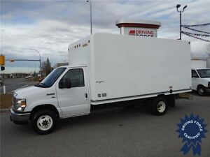 2012 Ford E450 UniCell 16ft Cube Van - Just CVIP Certified