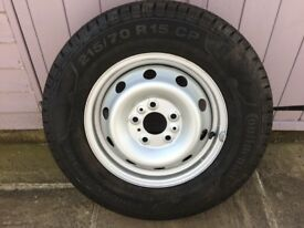 Spare Wheel for Fiat motorhome, never used,