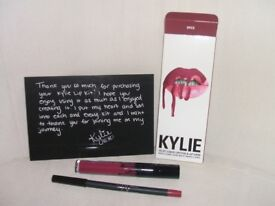 kylie jenner lipgloss and liner