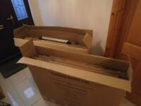 Home removal cardboard box kit suitable for 3 bedroom house.