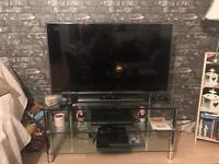 Glass TV Unit - Fab Condition