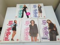 Alley McBeal series 1-5 some sealed