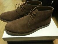 Silver Street London Memphis Suede Tan Chuka Boots