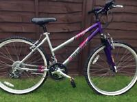 Ladies / girls barracuda mountain bike