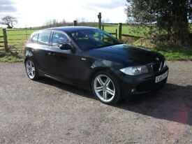 2008 BMW 120D M SPORT AUTOMATIC LOW MILEAGE