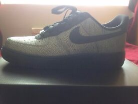Grey/Metallic Nike air force 1 size 6