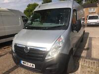 Vauxhall movano Mwb 13 Reg 1 owner from new 200k Km new mot till may 18