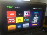 "32"" 1080i freeview HDMI TV with stand &@ remote - collection Derby"