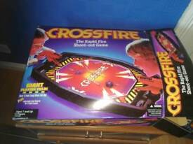 Crossfire shootout game