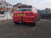 Peugeot 206 2007 1.4 petrol Cheap to insure, tax and run
