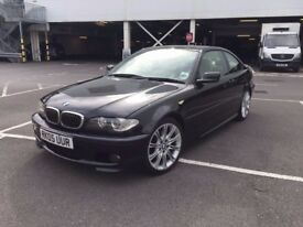 BMW 325Ci M Sport. Black, 2-door. 65k Miles. Excellent Condition!