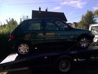 Peugeot 106 neens clutch