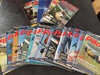 Pilot magazines - large bundle ppl nppl aircraft jets aviation
