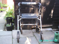 Two rollators for spares or repair,