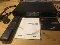 Humax Freeview digital TV recorder.