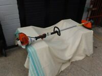Stihl FS130R Brush cutter/ strimmer. Full harness and shoulder, 2 New blades