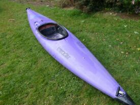 Single seat kayak