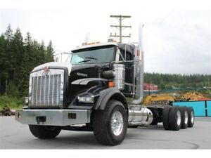 2014 Kenworth T800 Heavy Haul, Ext Day Cab, 18 Spd, Double Frame