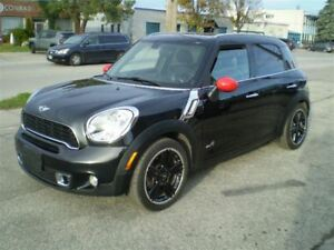 2012 MINI Cooper S Countryman AWD SPORT! TURBO! LEATHER! ONLY 48