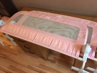 Summer double pink bed rails