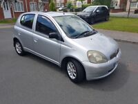 2002 AUTOMATIC TOYOTA YARIS 5DRS H/B 1.2LTR £698 ASKING PRICES ONLY NOFFERS CALL 07404029829 NO TEXT