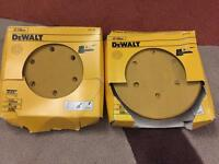 DeWalt 150mm sanding disc 320grit