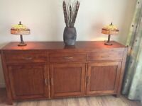 Sideboard with additional Table, 8 Chairs etc...