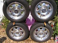 SLK ALLOY WHEELS WITH TYRES