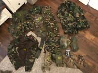 Airsoft or paintball DPM kit