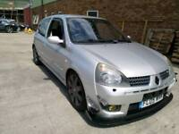Renault clio 182 sport full fat