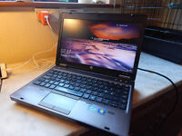 "Brilliant condition HP ProBook 13.3"" aluminium Windows 10 laptop. 6GB DDR3 RAM. 320GB hard drive."
