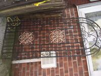 """SOLID IRON GATE 78"""" x 341/4"""""""