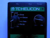 TC Helicon Vocal Effects D1 Doubling and Detune Pedal