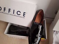 Brand new black patent shoes size 6
