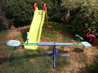 Childrens slide and Seesaw £45 ovno
