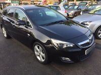 2011/11 VAUXHALL ASTRA 1.7 CDTi 16v SRi DIESEL ESTATE, ++£30 ROAD TAX, STUNNING LOOKS & HIGH SPEC