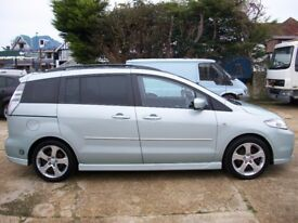 2006 MAZDA 5 MPV 7 SEATER LPG DUEL FUEL, NEW CLUTCH JUST FITTED