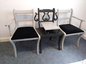 Jack & Jill Chairs / Bench / Seating