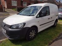 STUNNING VW CADDY C20TI75 DIRECT FROM VOLKSWAGEN FINANCIAL SERVICES UK WITH FULL MAIN AGENT HISTORY