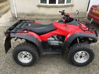 honda rincon 10 hours on the clock as new seldom used