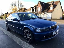 BMW E46 325ci Sport Coupe 2002 Manual NOW SOLD!