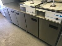 CATERING COMMERCIAL FOSTER BENCH COUNTER FRIDGE CAFE SHOP TAKE AWAY FAST FOOD COMMERCIAL KITCHEN BBQ