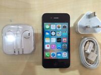 IPHONE 4S BLACK / UNLOCKED / 16 GB /VISIT MY SHOP./ GRADE A / 1 YEAR WARRANTY