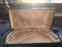 Original in box simulated pearls